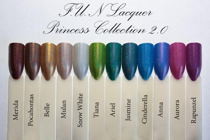 FUN Lacquer Princess 2.0 Collection ~ TorrieNails
