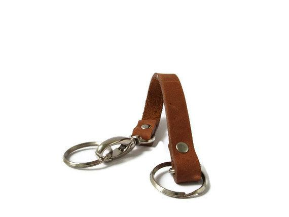 Leather Keychain for Men or Women Valet by IndependentReign