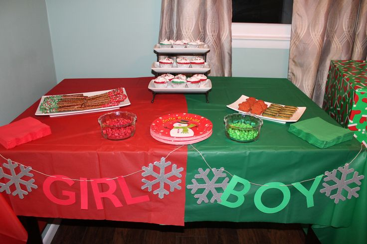 Christmas Gender Reveal