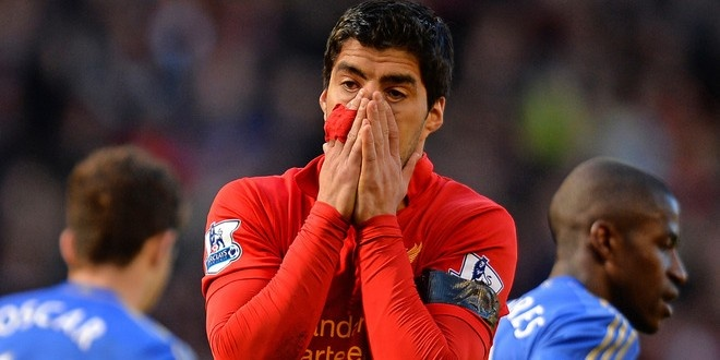 FA calls for increase in Luis Suarez' three game ban for bite // Onpointsoccer.com