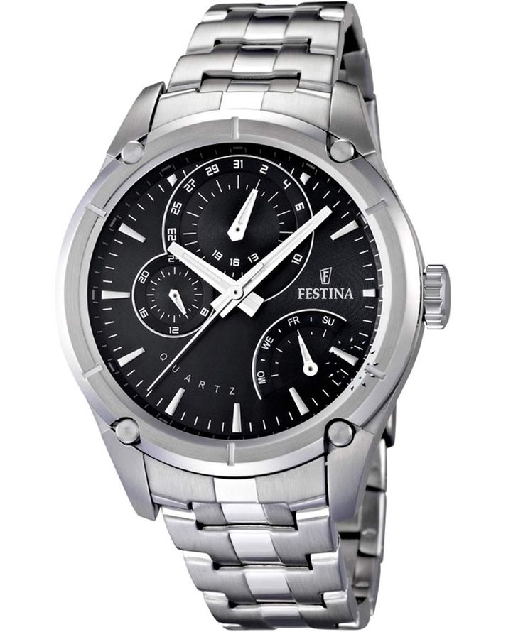 FESTINA Stainless Steel Bracelet Τιμή: 174€ http://www.oroloi.gr/product_info.php?products_id=36419