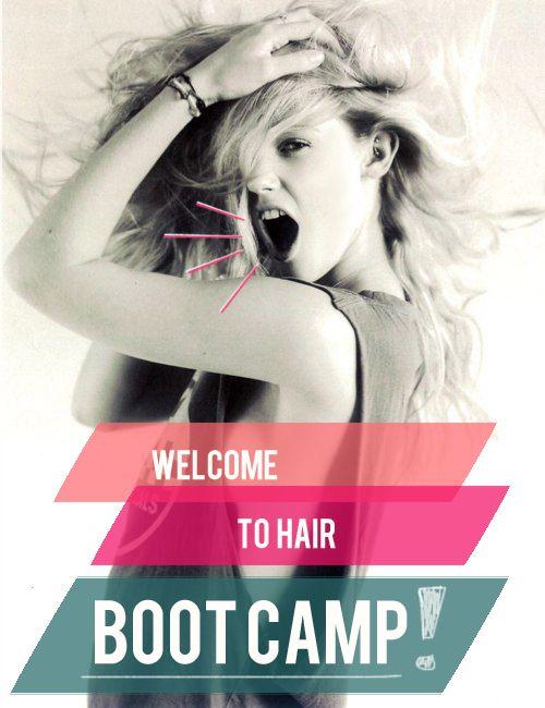 healthy hair bootcamp plan