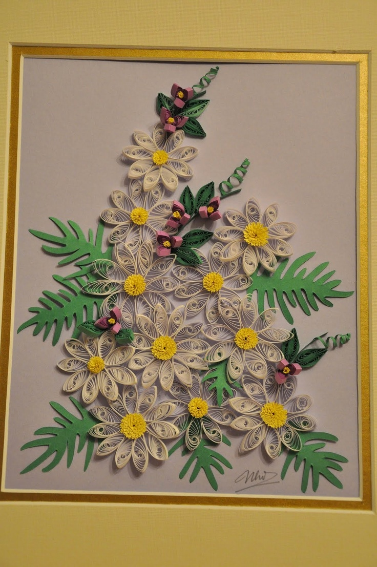 Quilling, Flower Leaves, 3D Quilling, Clever Crafts, Paper Quilling