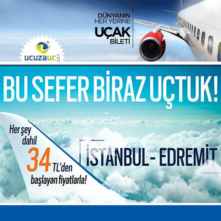 Bu Sefer Birazcık Uçtuk! İstanbul - Edremit uçak bileti 34 TL'den başlayan fiyatlarla ucuzauc.com adresinde veya mobil uygulamamızda sizleri beklemekte... #ucuzauc #ucuzucakbileti #tatiltutkusu #şanlıurfa #halfeki #selfie #tbt #doğa #manzara #gezi #gezgin #travel #instatravel #instatraveling #sırtçantalı #backpacker #worldtour #izmir #antalya #çeşme #alanya #edremit