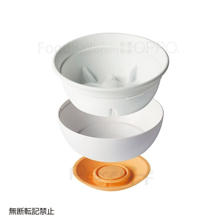 Amazon | OPPO フードボール・オープン FOOD Ball open ~ぺチャバナ~ オレンジ | 犬用品通販