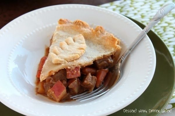 Beef pot pies, Pot pies and Beef on Pinterest