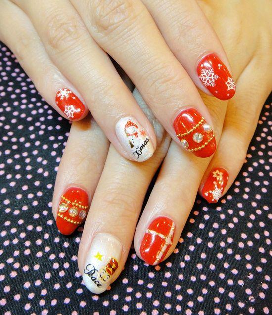 Holiday Glam | Nail Designs
