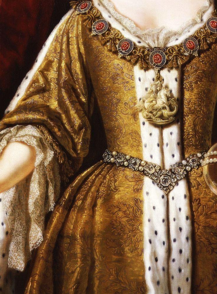 Portrait of Queen Anne (1665-1714) (Detail) John Closterman (1660-1711)