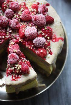 Ginger & Lemon Cake: raw, vegan, gluten free & sugar free... http ...