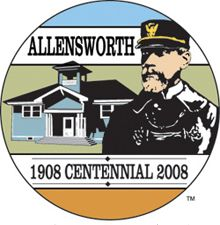 Allensworth Centennial Logo