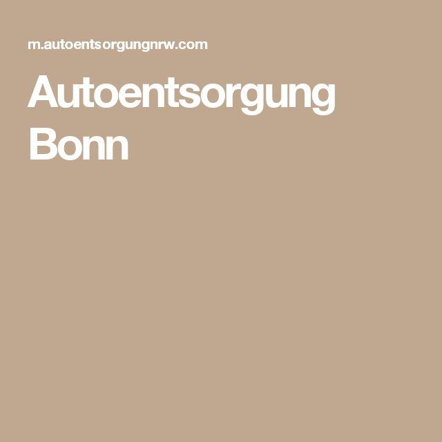 Autoentsorgung Bonn