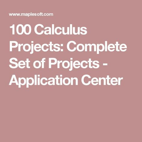 answers to business calculus project Calculus textbook solutions and answers from chegg get help now.
