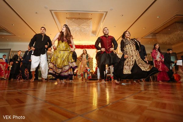 Indian wedding reception dance performance http://www.maharaniweddings.com/gallery/photo/127943
