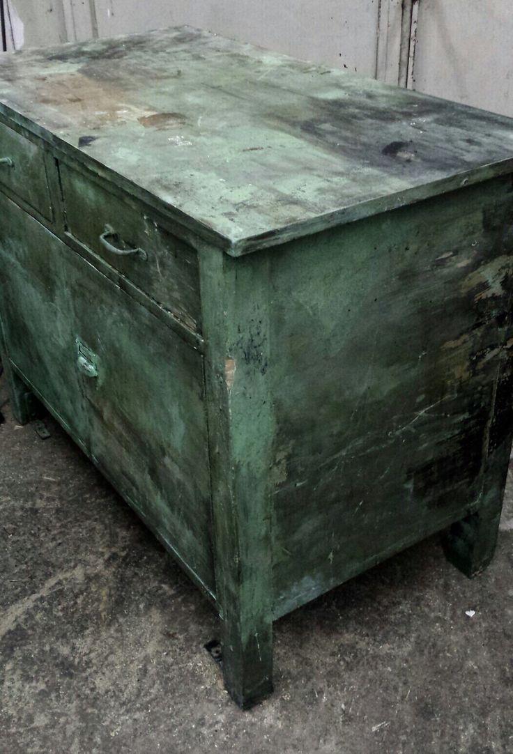 kommode antike werkbank industrial vintage wien und. Black Bedroom Furniture Sets. Home Design Ideas