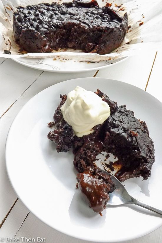 Slow Cooker Vegan Hot Fudge Sauce Chocolate Cake                                                                                                                                                                                 More