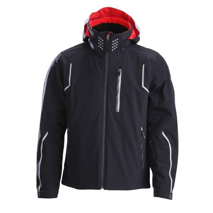 Descente Major Mens Ski Jacket in Black and Red - http://www.white-stone.co.uk/mens-c272/ski-c275/ski-jackets-c284/descente-major-mens-ski-jacket-in-black-and-red-p6084