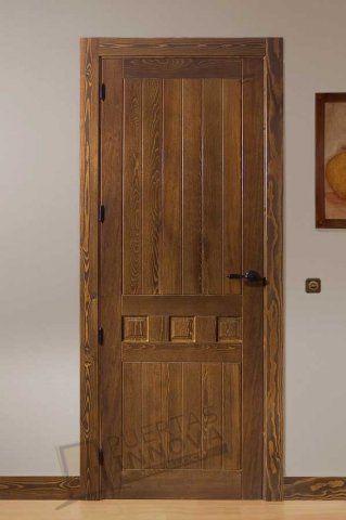 17 mejores ideas sobre puertas de madera rusticas en for Catalogo puertas interior