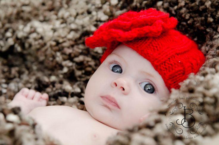 Red looks great on little ones!  @Jennifer Bel Photography