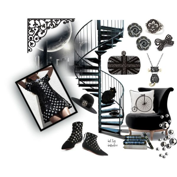 """""""Madness in the Moonlight (Contest Entry)"""" by suzeetoo on Polyvore"""