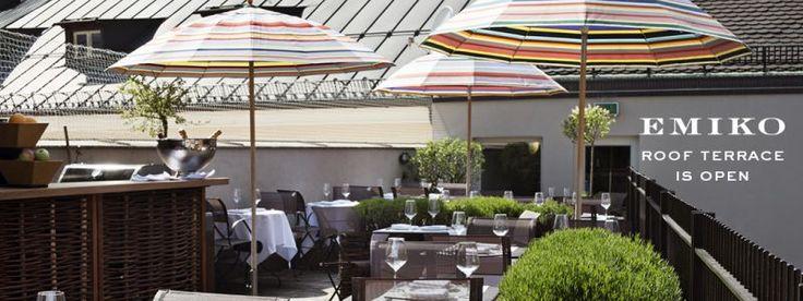 Emiko - Restaurant im Louis Hotel München - Dachterrasse