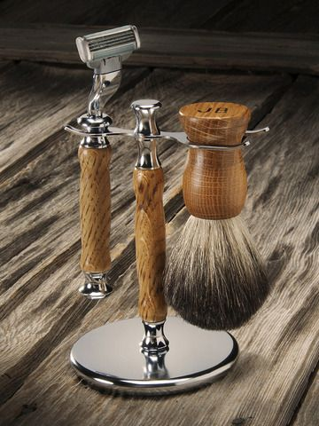 STYLE ICON Michele Probst of Menaji Skincare picks her favorite men's Valentine's Day gifts: whiskey shaving kit by Heritage Handcrafted