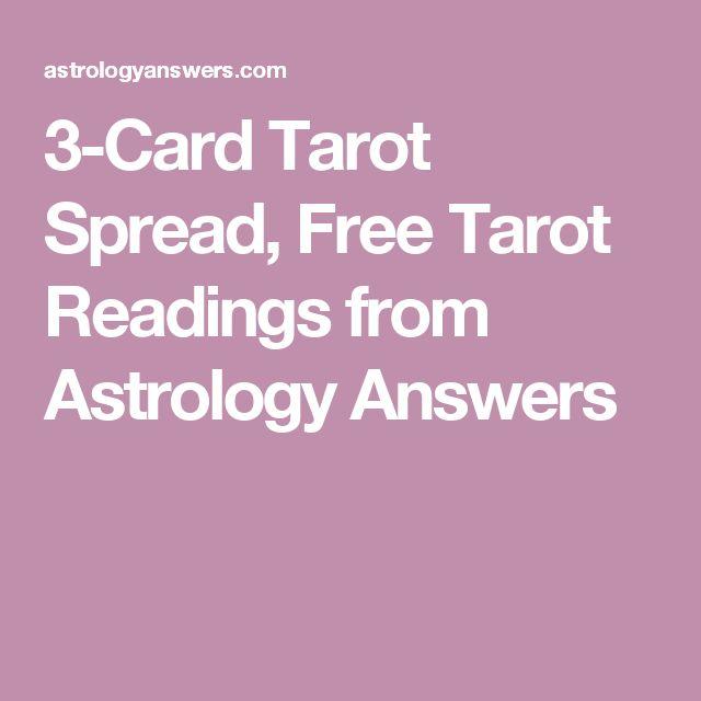 3-Card Tarot Spread, Free Tarot Readings from Astrology Answers