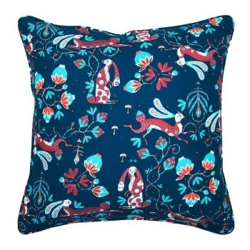 Rabbit cushion, fabric designed by Klaus Haapaniemi