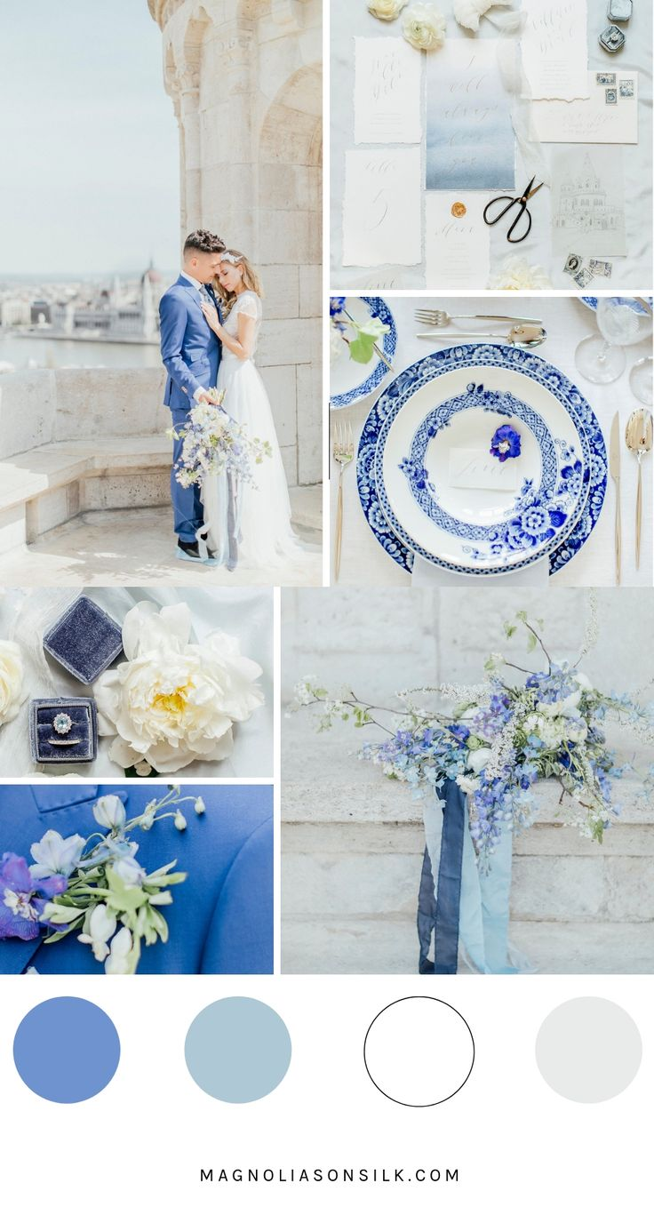 Top 5 Spring Wedding Color Palettes  – Our Big Day