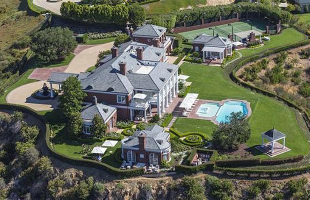 This 13,276-square-foot estate, designed for hockey star Wayne Gretzky by Richard Landry is up for sale, this time asking $14.995M.