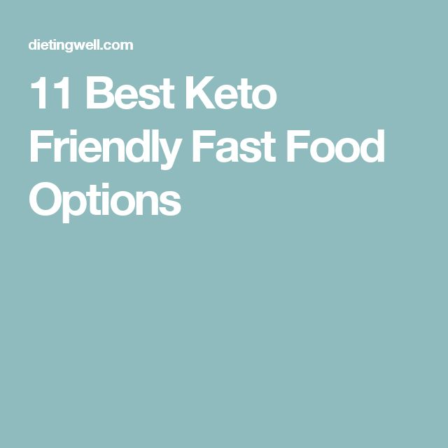 Best takeaway options diet