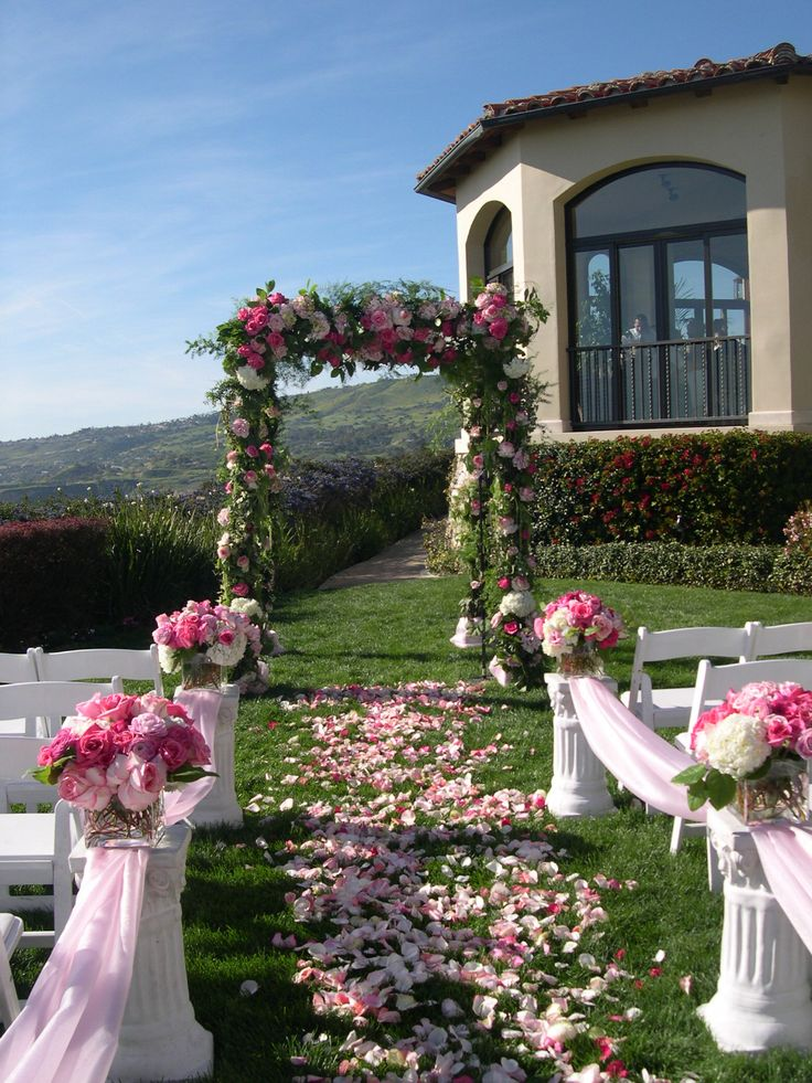 decorating ideas for outside wedding ceremony%0A The Wedding Decor