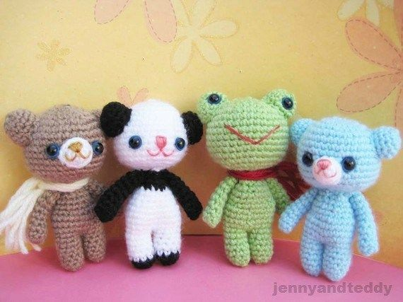 Crochet+Brownie+Bear+and+His+Friends,+PATTERN+FOUND+HERE:+Crochet+Brownie+Bear+and+His+Friends+|