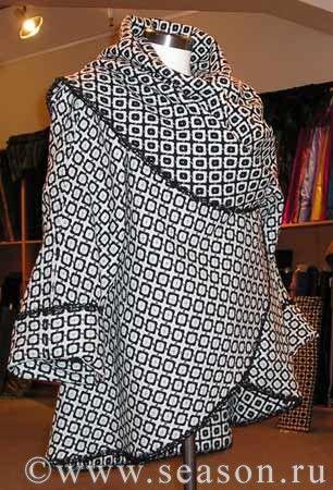 Любителям шитья: накидка-пальто - Ш и К