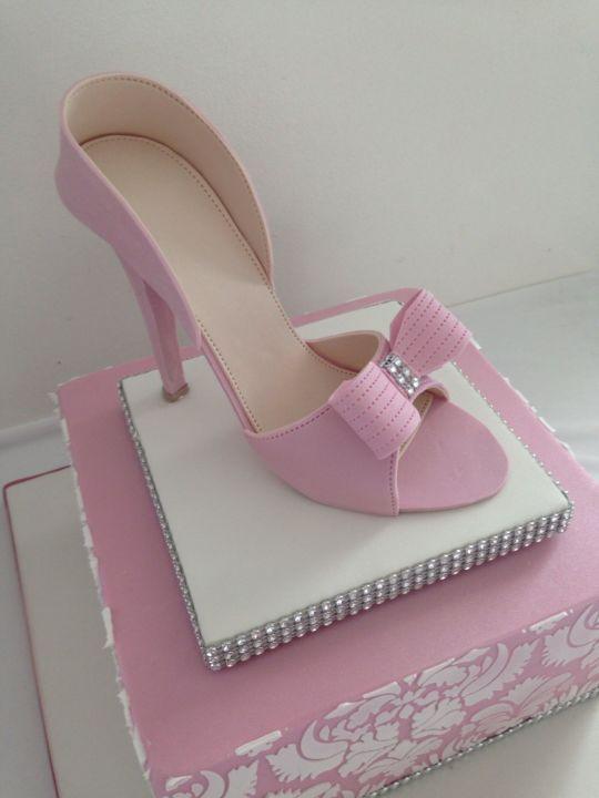 pink shoe cake shoe cakes pink