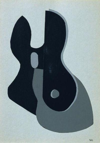 Fritz Winter: Ohne Titel, 1931
