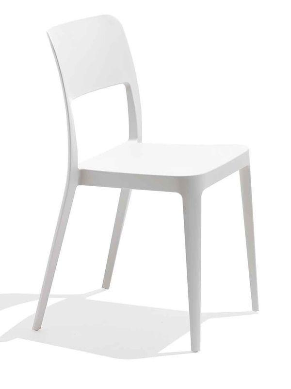 Nenè | Sedia in polipropilene bianca