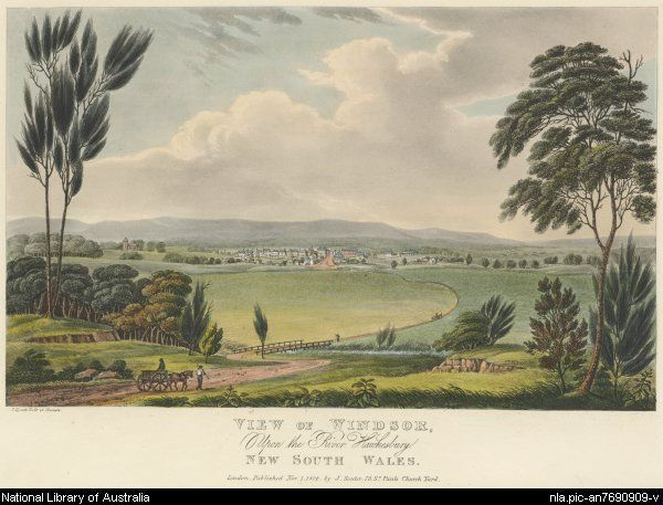 View of Windsor upon the River Hawkesbury,1824