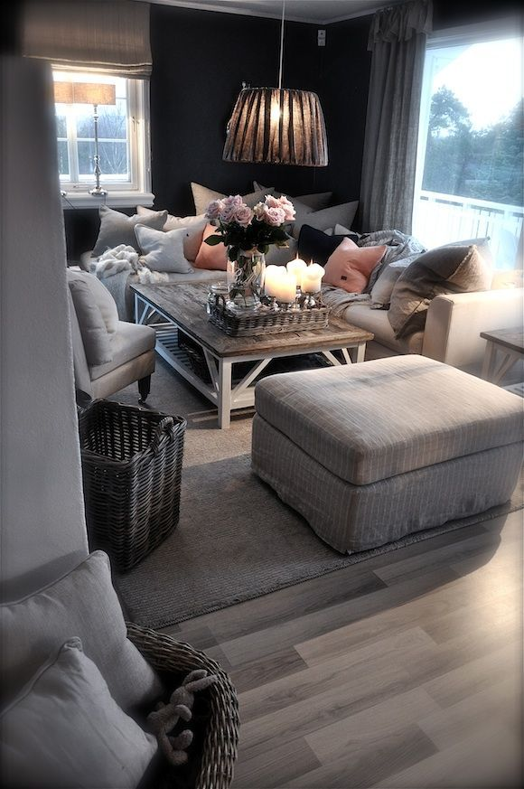 A wrap around couch full of pillows is almost more important to me than my bed!