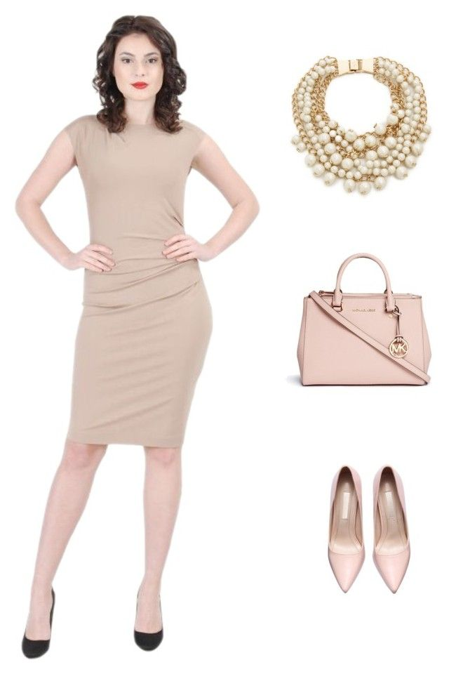 Think Smart by YOKKO by yokko-the-fashion-store on Polyvore featuring Michael Kors, Kate Spade.  #yokkoromania #spring2016 #fashion #ss16 #madeinromania #officeoutfit #feminity