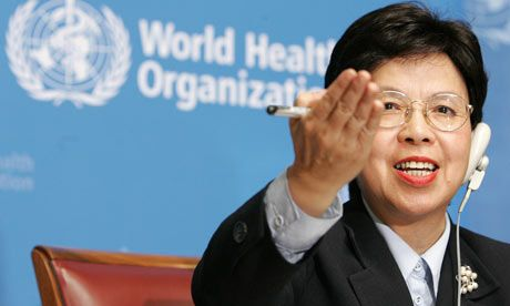 Margaret Chen: director of WHO, warrior against virus outbreaks, and championing improvements in other high-need medical areas. Incredibly accomplished.