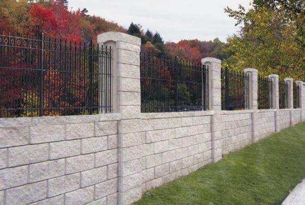Allan Block Fence System - Nitterhouse