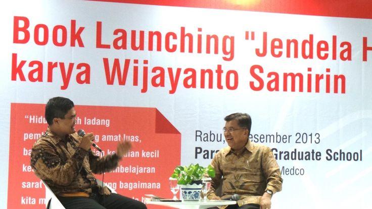 JK Berbagi Resep Anti Capek di Launching Buku Jendela Hati | Jusuf Kalla