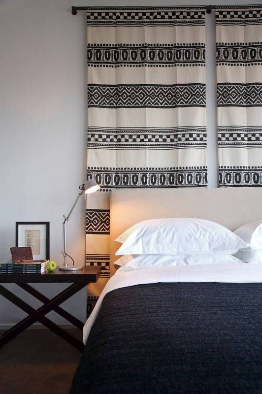how to soundproof black and white stripe tapestry