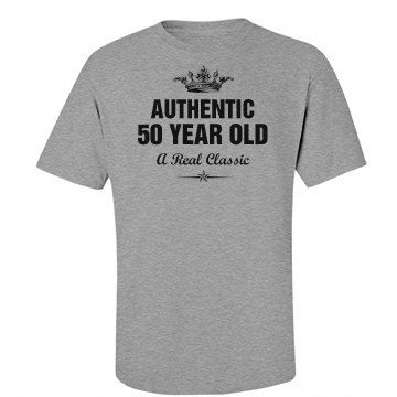 Authentic 50 year old
