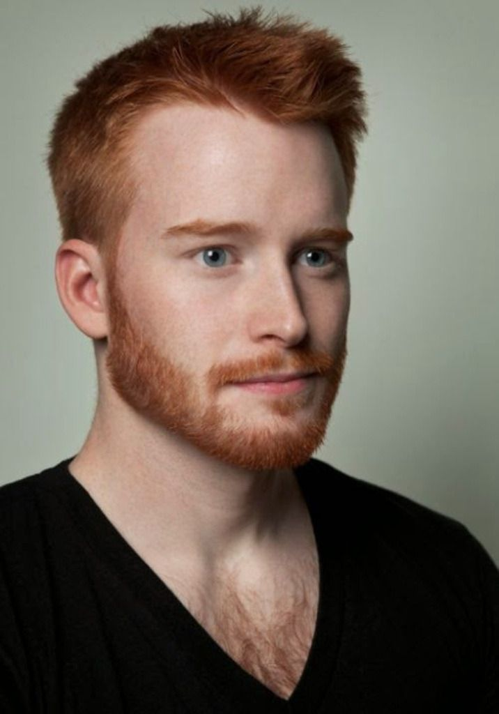 Redhead male actors naked