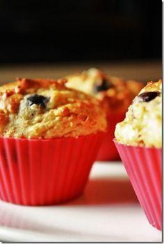 Muffin au bleuet déliceux et santé.