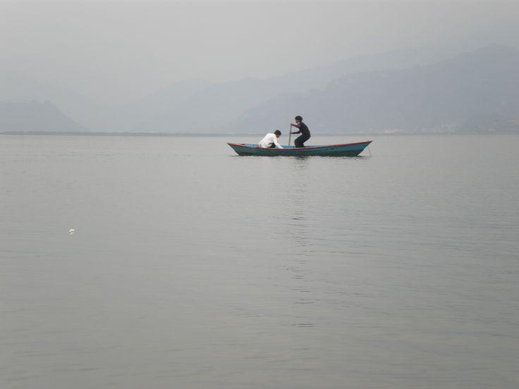 Pewa lake Pokara Nepal