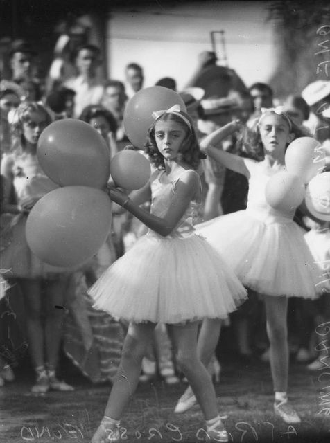 Ballerinas dancing at the Red Cross Fund, Brisbane, 1942 by State Library of Queensland, Australia, via Flickr