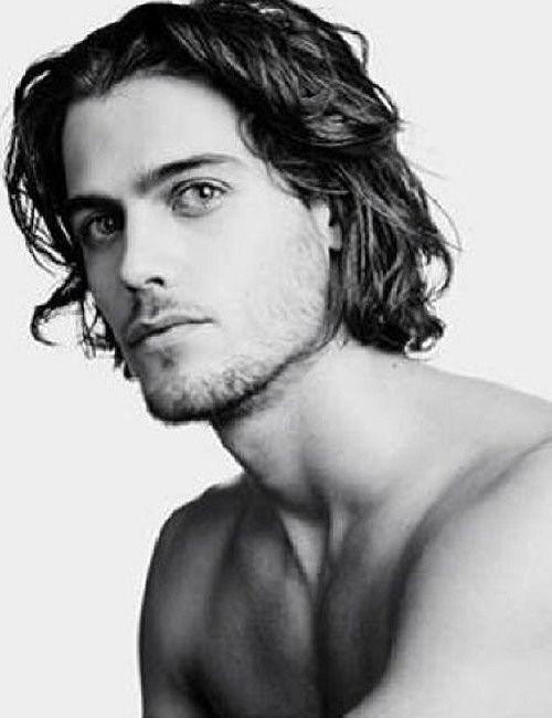 Pin On Long Hair Men