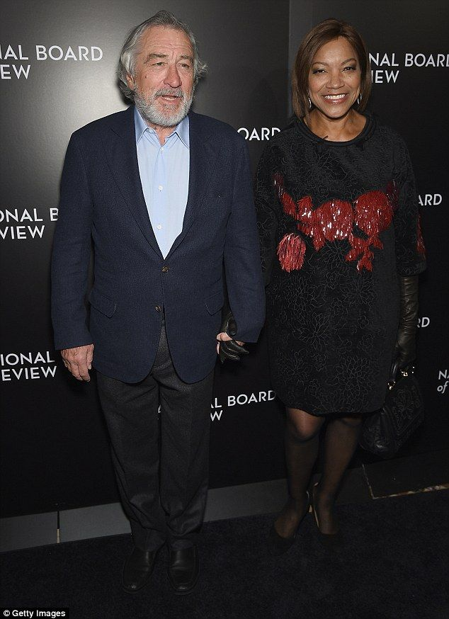 Parents: Robert De Niro and his wife Grace are the parents of an autistic child